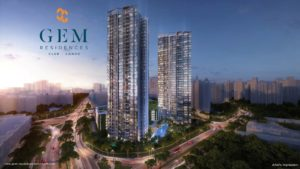 GEM Residences Facade