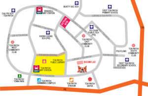 GEM Residences LOCATion map