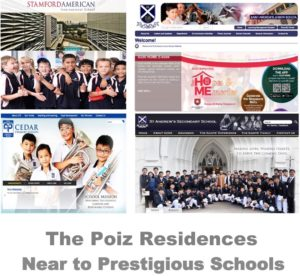 The Poiz Residences school nearby